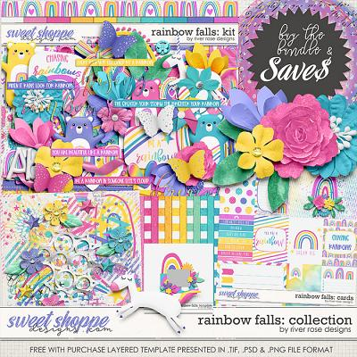 Rainbow Falls: Collection + FWP by River Rose Designs