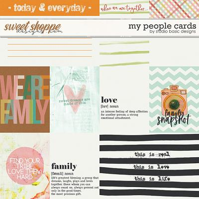My People Cards by Studio Basic