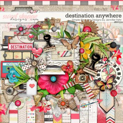 Destination Anywhere Kit:  Simple Pleasure Designs by Jennifer Fehr