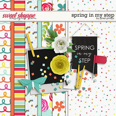 SPRING IN MY STEP by Janet Phillips