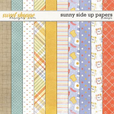Sunny Side Up Papers by LJS Designs