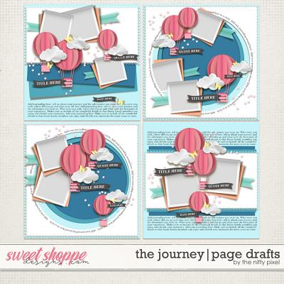 THE JOURNEY | PAGE DRAFTS by The Nifty Pixel