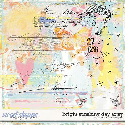 Bright Sunshiny Day Artsy by Studio Basic