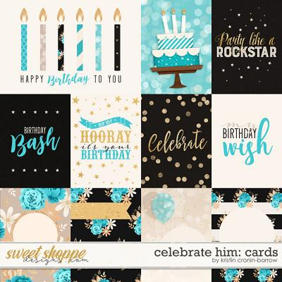 Celebrate: Him Cards by Kristin Cronin-Barrow