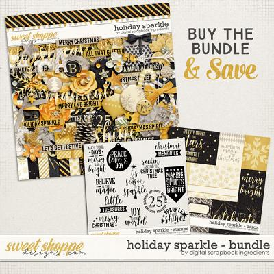 Holiday Sparkle Bundle by Digital Scrapbook Ingredients