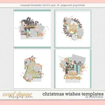Christmas Wishes Templates by Crystal Livesay