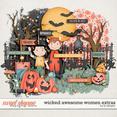 Wicked Awesome Women Extras by LJS Designs