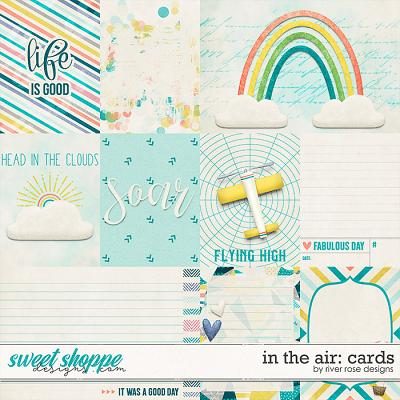 In the Air: Cards by River Rose Designs