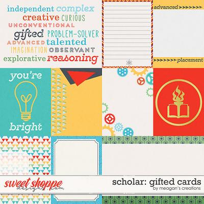Scholar: Gifted Cards by Meagan's Creations