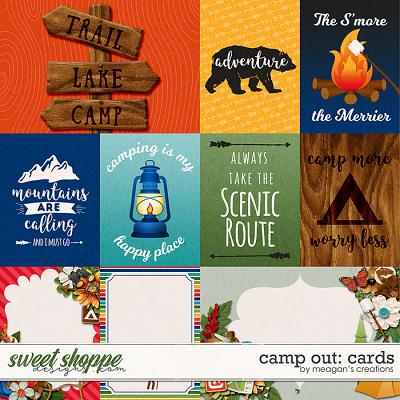 Camp Out: Cards by Meagan's Creations
