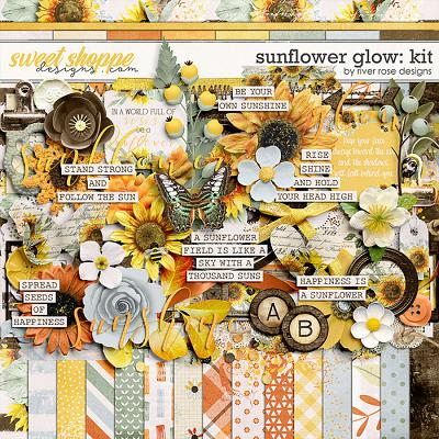 Sunflower Glow: Kit by River Rose Designs