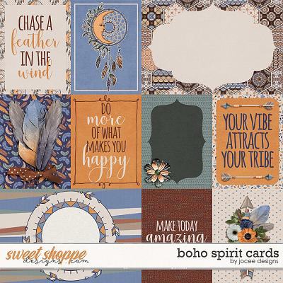 Boho Spirit Cards by JoCee Designs