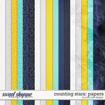 Counting Stars: Papers by River Rose Designs