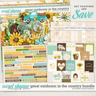 Great Outdoors: In the Country Bundle by Kristin Cronin-Barrow