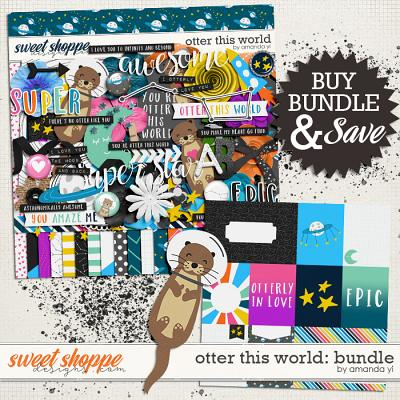 Otter This World: Bundle by Amanda Yi