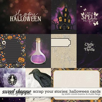 Scrap Your Stories: Halloween- CARDS by Studio Flergs & Kristin Cronin-Barrow