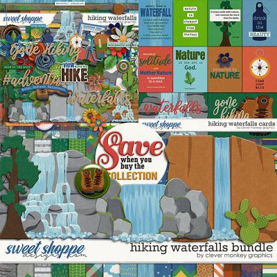 Hiking Waterfalls Bundle by Clever Monkey Graphics