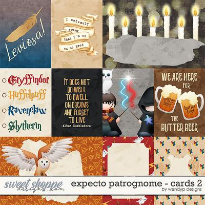 Expecto Patrognome - cards 2 by WendyP Designs