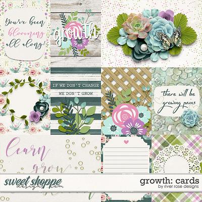 Growth: Cards by River Rose Designs