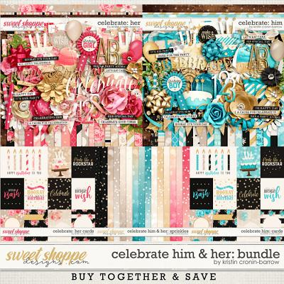 Celebrate: Him and Her Bundle by Kristin Cronin-Barrow