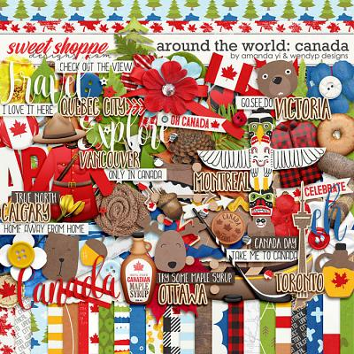 Around the world: Canada by Amanda Yi & WendyP Designs