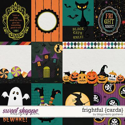 Frightful {cards} by Blagovesta Gosheva