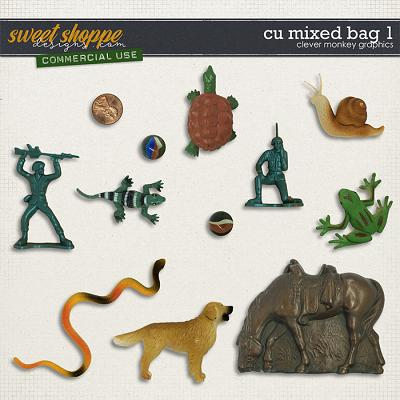 CU Mixed Bag 1 by Clever Monkey Graphics