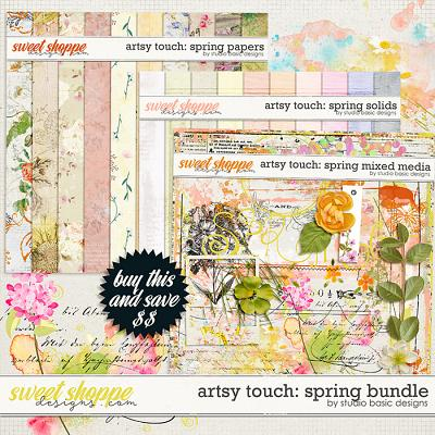 Artsy Touch: Spring Bundle by Studio Basic