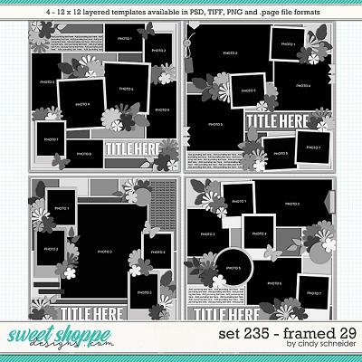 Cindy's Layered Templates - Set 235: Framed 29 by Cindy Schneider