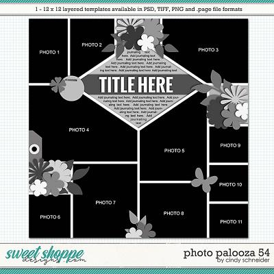 Cindy's Layered Templates - Photo Palooza 54 by Cindy Schneider