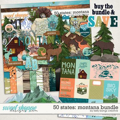 50 States: Montana Bundle by Kelly Bangs Creative