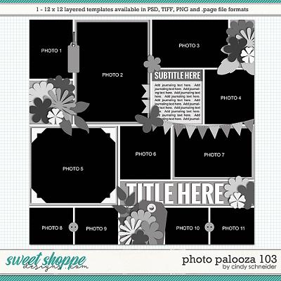 Cindy's Layered Templates - Photo Palooza 103 by Cindy Schneider