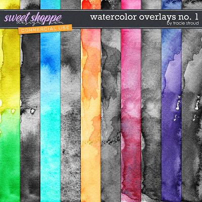 CU Watercolor Overlays no. 1 by Tracie Stroud