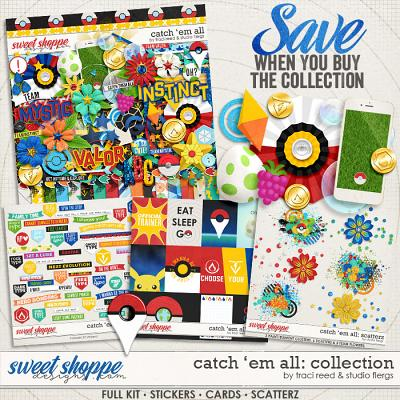 Catch 'Em All: COLLECTION by Traci Reed and Studio Flergs
