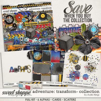 Adventure: Transform- COLLECTION & *FWP* by Studio Flergs