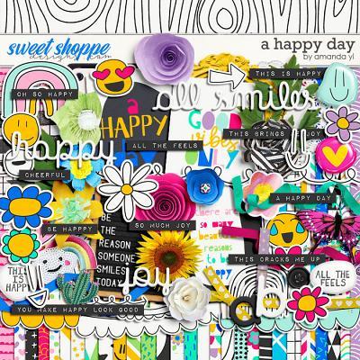 A Happy Day by Amanda Yi