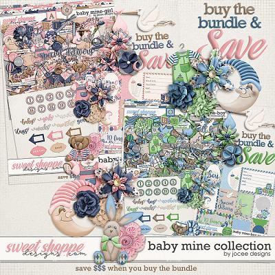 Baby Mine Collection by JoCee Designs