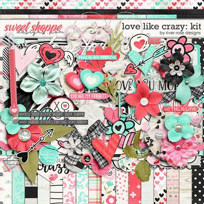 Love Like Crazy: Kit by River Rose Designs