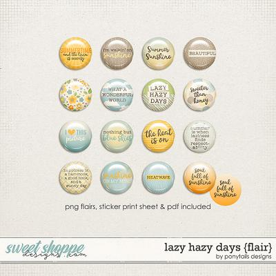 Lazy Hazy Days Flair by Ponytails