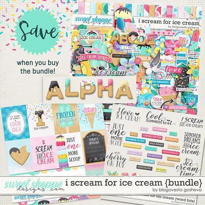 I scream for ice cream {bundle} by Blagovesta Gosheva