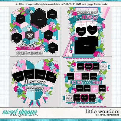 *FREE with your $10 Purchase* Cindy's Layered Templates - Little Wonders by Cindy Schneider