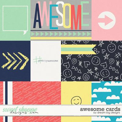 Awesome Cards by Dream Big Designs