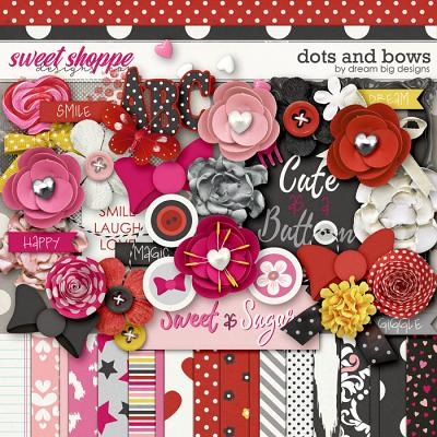 Dots and Bows by Dream Big Designs
