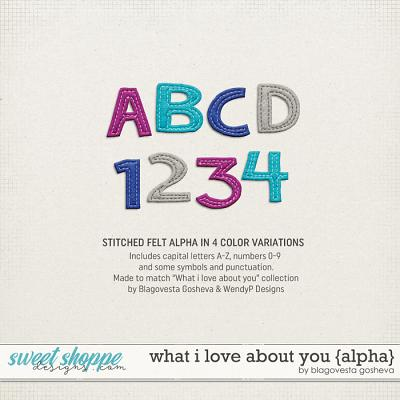 What I Love About You {alpha} by Blagovesta Gosheva