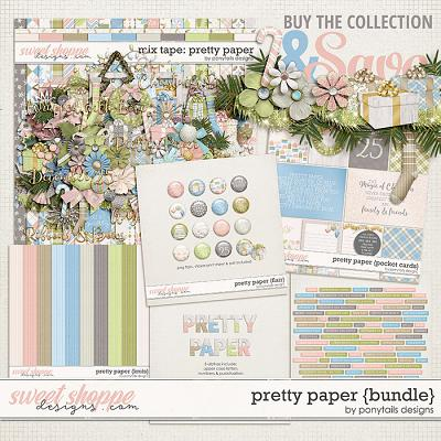 Pretty Paper Bundle by Ponytails