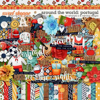 Around the world: Portugal by Amanda Yi & WendyP Designs