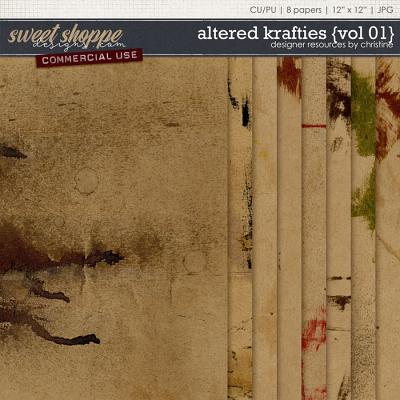 Altered Krafties {Vol 01} by Christine Mortimer