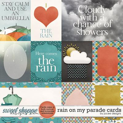 Rain on my Parade Cards by JoCee Designs