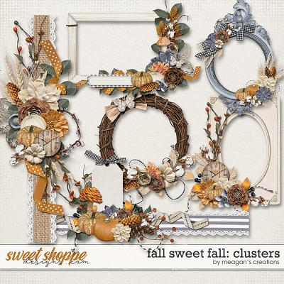 Fall Sweet Fall: Clusters by Meagan's Creations