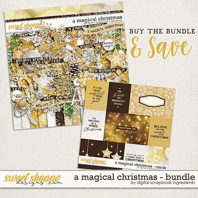 A Magical Christmas Bundle by Digital Scrapbook Ingredients